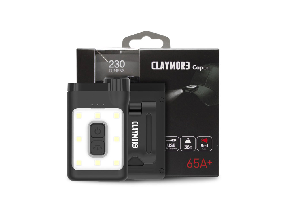 크레모아 캡라이트 캡온 65A+-블랙(CLP-320)/CLAYMORE CAP LIGHT CAPON 65A+ BLACK_CGCD023BK