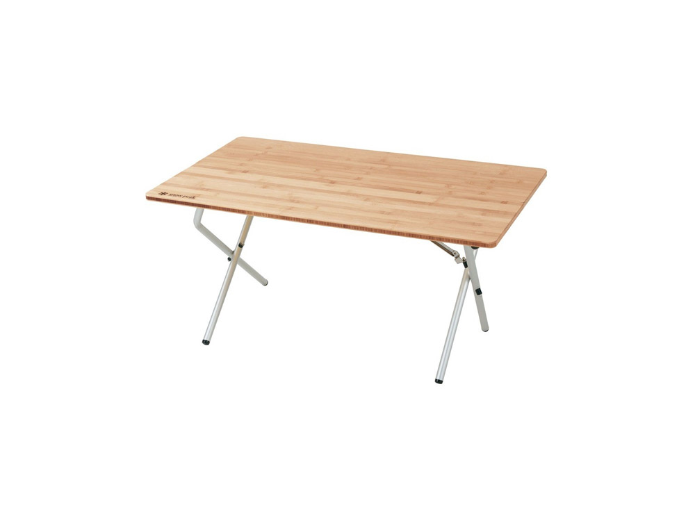 스노우피크 원액션로우테이블(LV-100TR)/SNOWPEAK SINGLE ACTION LOW TABLE BAMBOO_C5SK03100