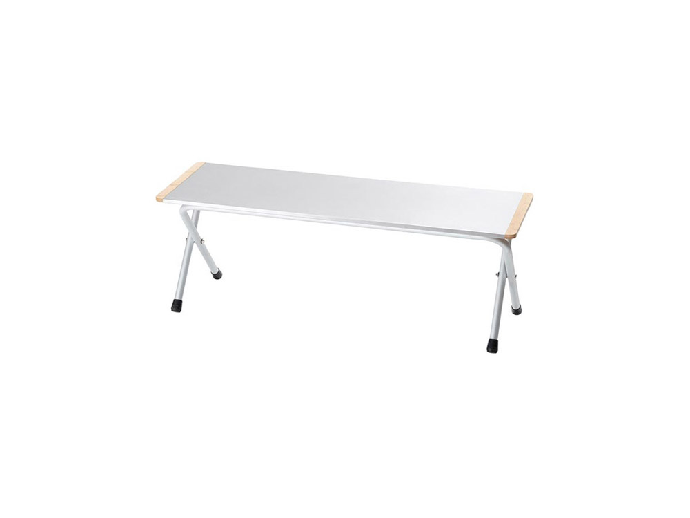 스노우피크 FD쉘프메탈탑롱(LV-268)/SNOWPEAK FOLDING SHELF METAL TOP LONG_C5SK00500