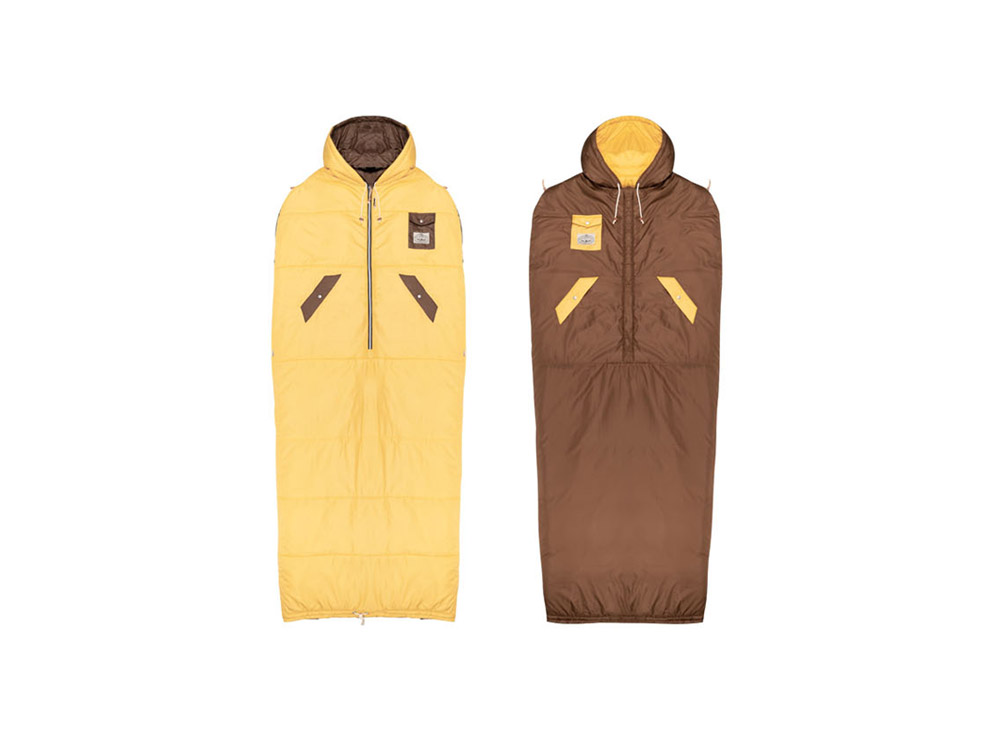 폴러 양면 냅색 골드/POLERSTUFF_THE NAPSACKS_GCH_C3PD104GD