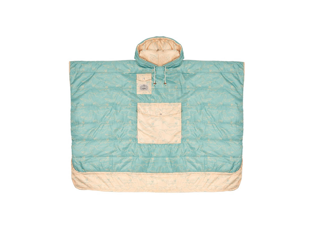 폴러 양면 판초 크림 FSG/POLERSTUFF_REVERSIBLE CAMP PONCHO_CREAM FSG_CPPD101CR