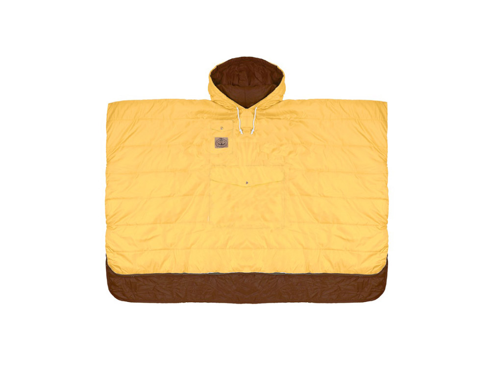 폴러 양면 판초 골드/POLERSTUFF_REVERSIBLE CAMP PONCHO_GOLD_CPPD102GD