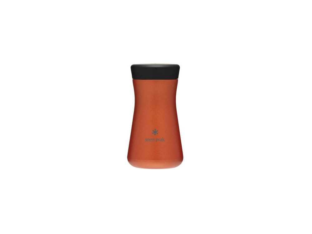 스노우피크 스텐보온병 T350 오렌지(TW-350OR)/SNOWPEAK STAINLESSVACUUMBOTTLE TSUZUMI350 ORANGE_C9SK005OR