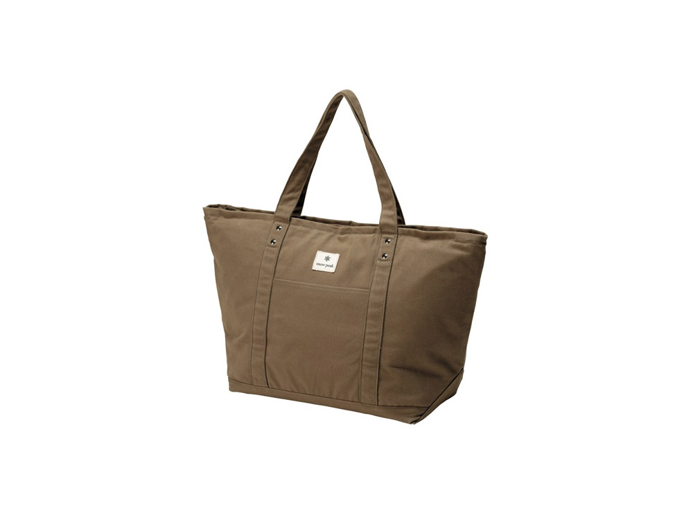 스노우피크 토트백쿨러 브라운(UG-320BR)/SNOWPEAK COOLER TOTE BAG BROWN_CBSK002BW