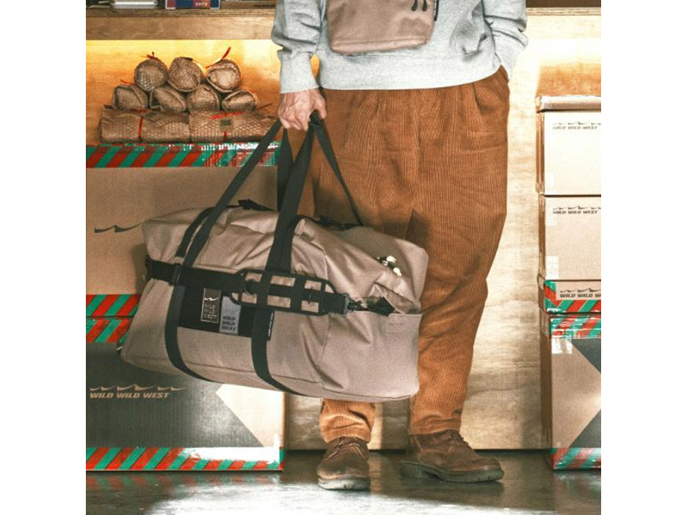 와일드와일드웨스트 H.Type 더플백 코요테탄/WILD WILD WEST H.TYPE DUFFEL BAG-COYOTE TAN_CNW7102TA